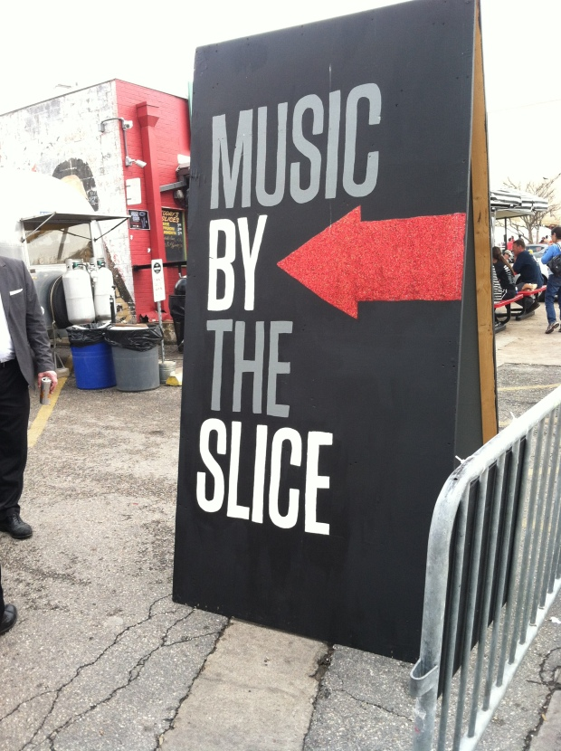 Even at Home Slice where i work there was music! Right in our parking lot! #MXTS