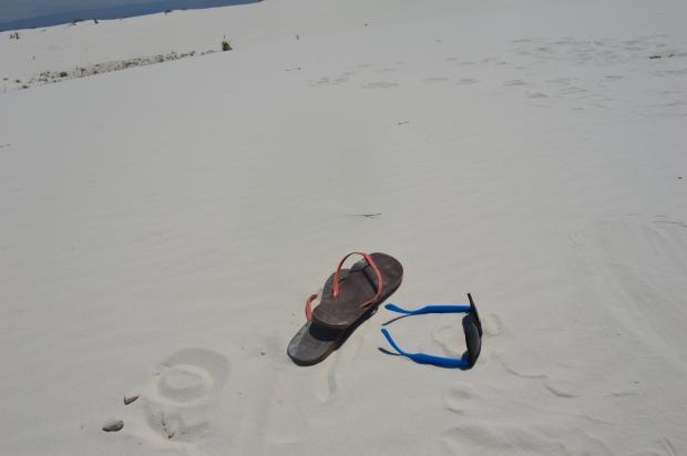 I enjoy long walks on the dunes